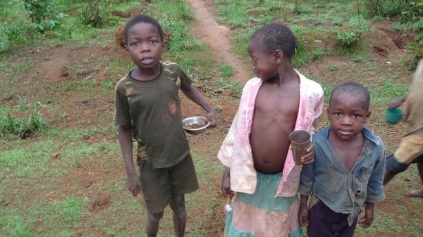 Barn i Zambia