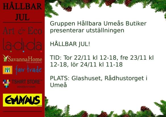 Utställning Hållbar Jul