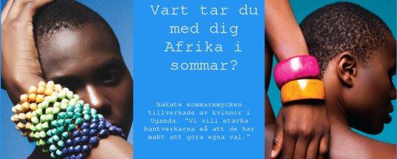 Afrikanska etniska smycken