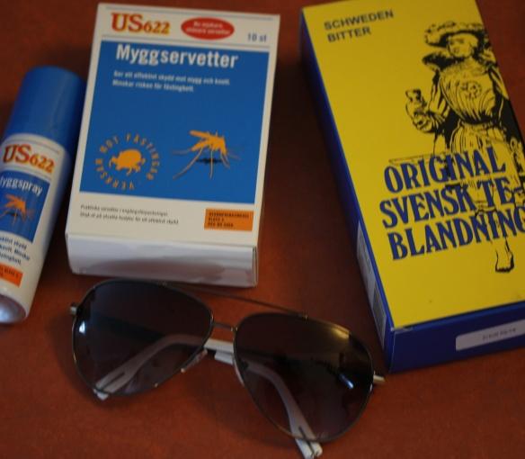 För mygg och sol