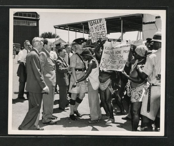 Portests in 1960s_Zambia