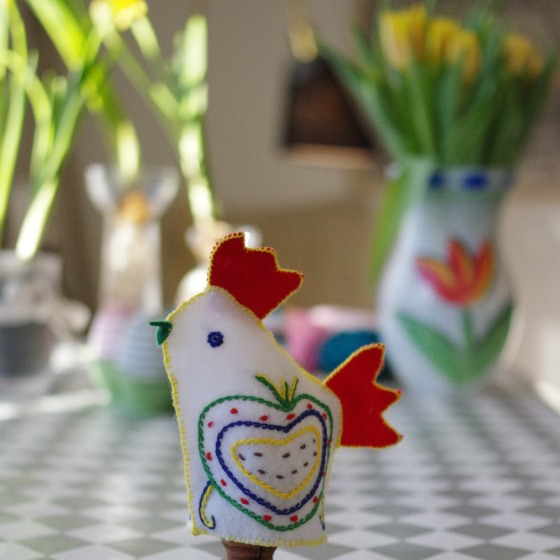 Handcrafted Easter decoration